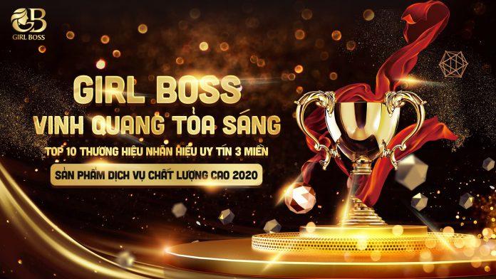 Mỹ phẩm Girl Boss liên tiếp 2 lần đón nhận giải thưởng uy tín về thương hiệu